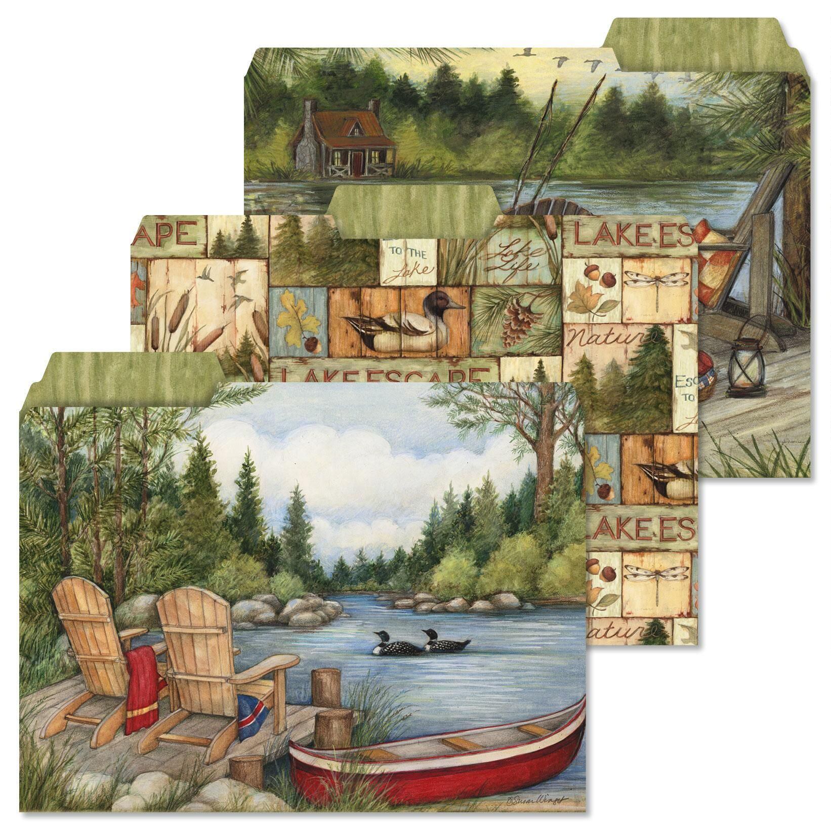 Lakeside file folders colorful images for Lakeside designs