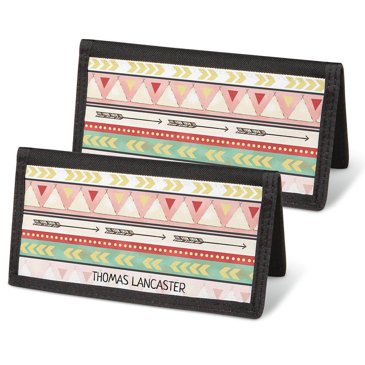 Urban Tribal Personal Checkbook Covers