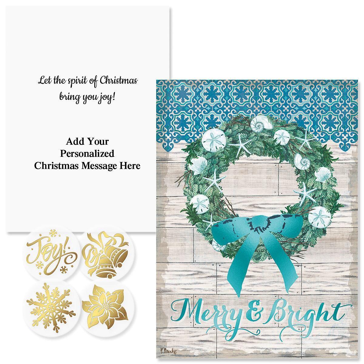 Coastal Christmas Christmas Cards