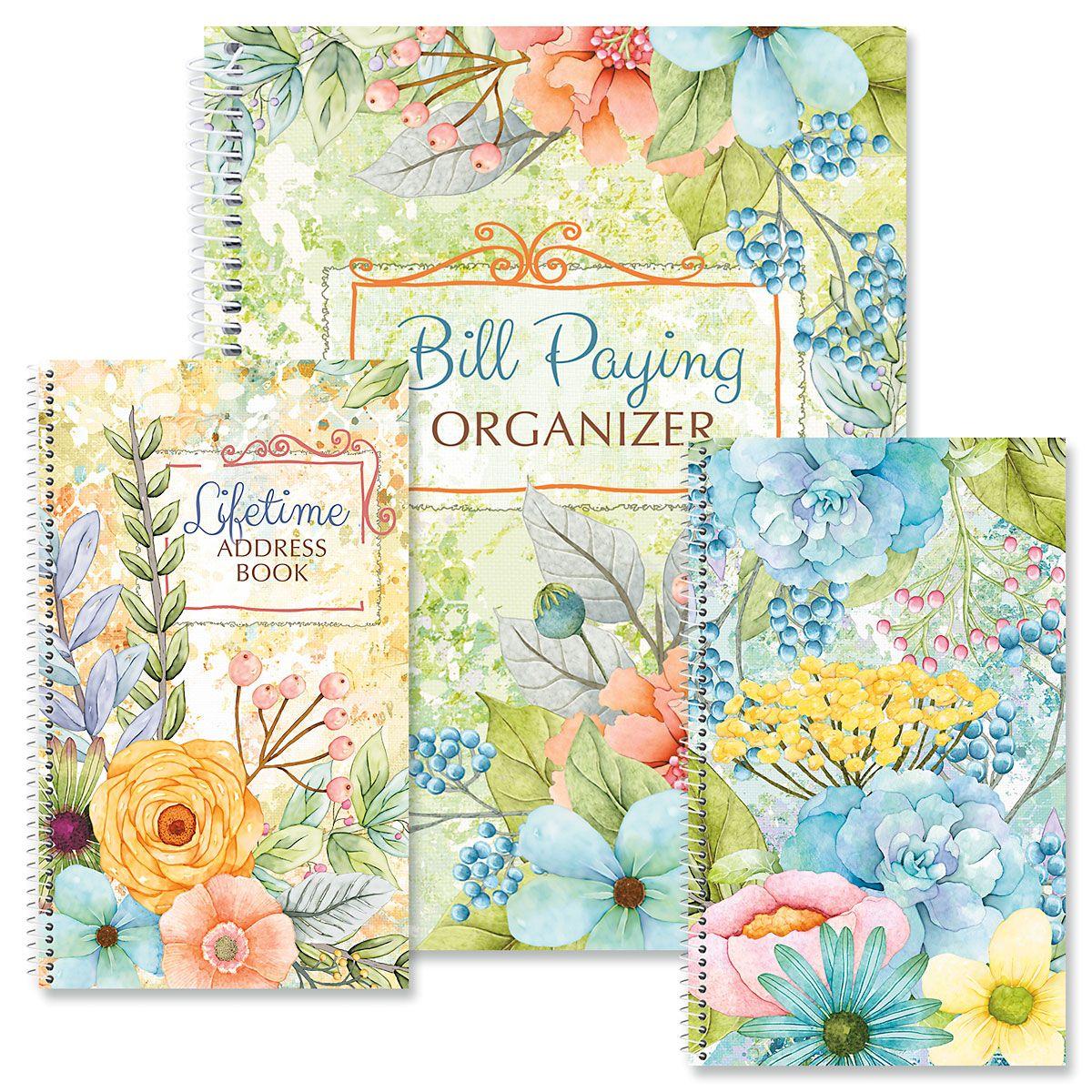 Sentiment Garden Organizer Books