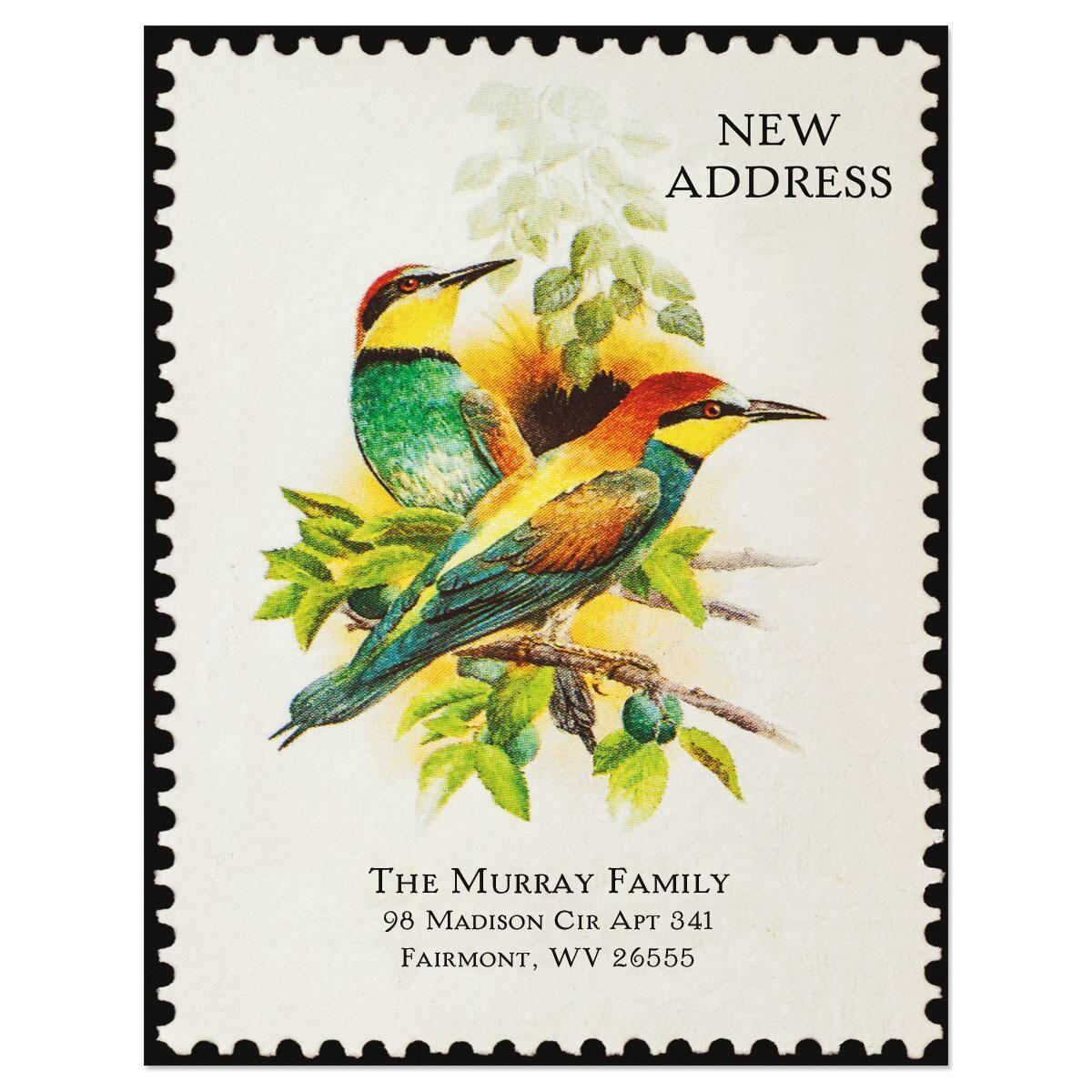 Somewhere New Address Postcards