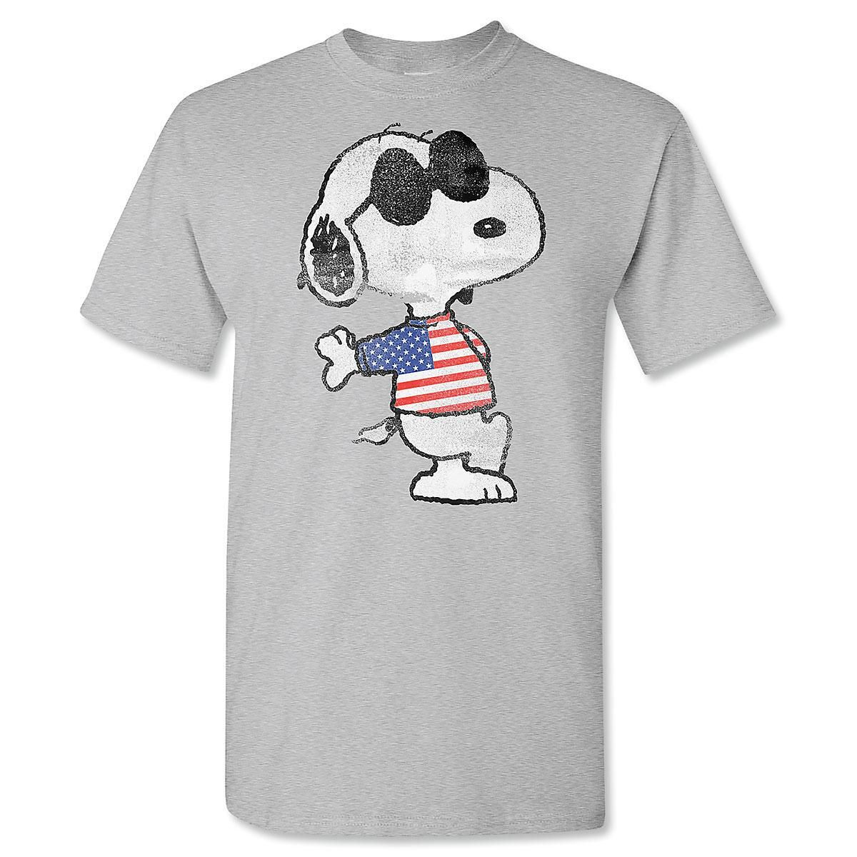 PEANUTS® Patriotic Adult T-Shirt