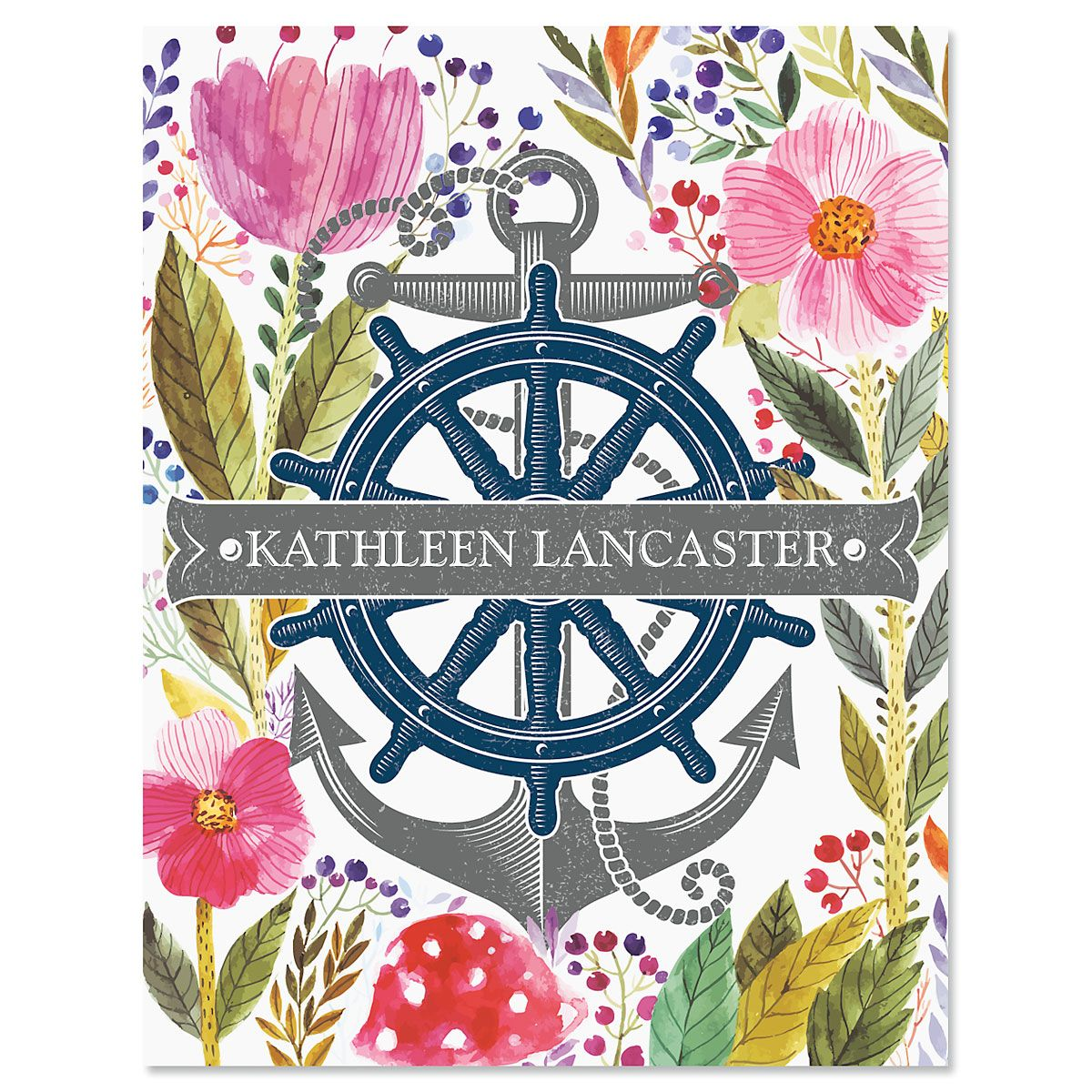 Ocean Spirit Personalized Note Cards