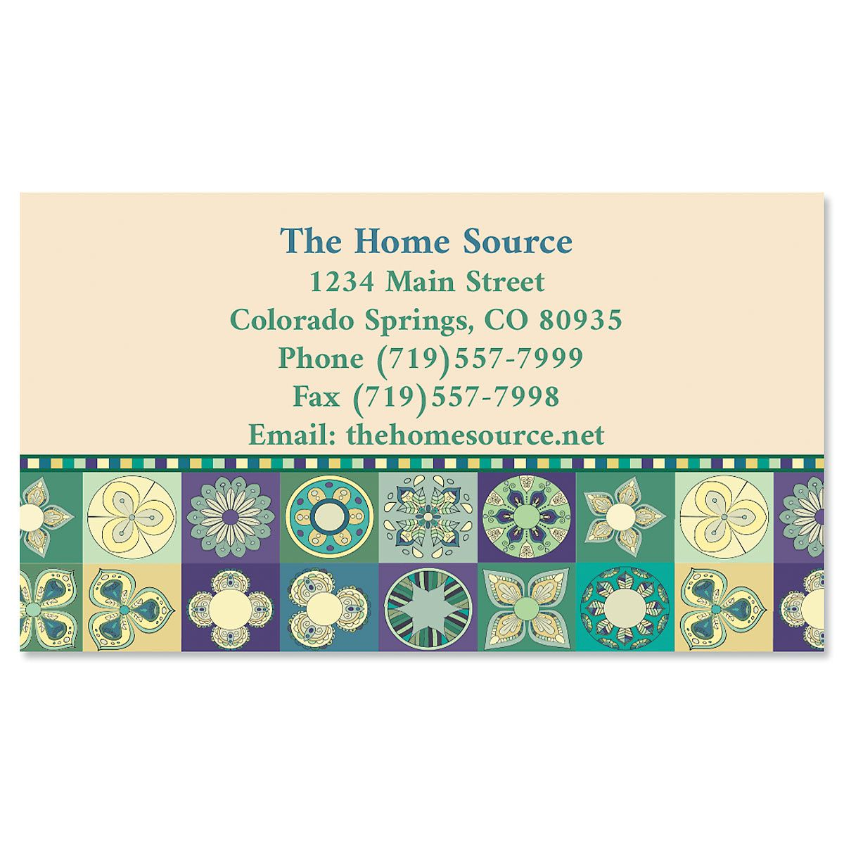 Patchwork Business Cards