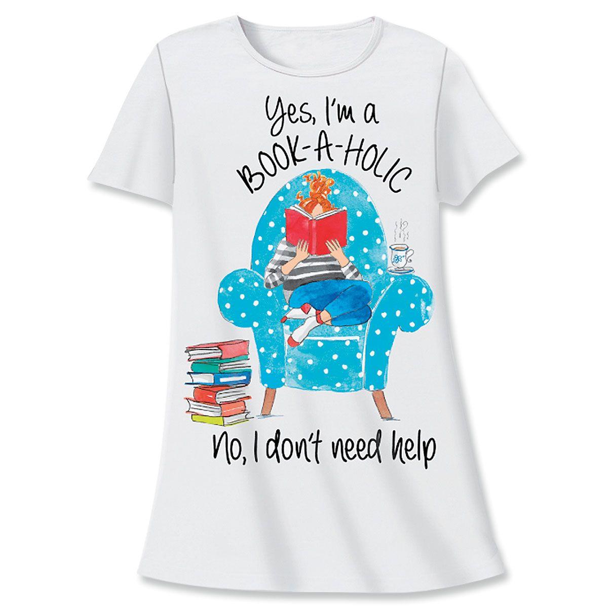 Book-a-holic Nightshirt