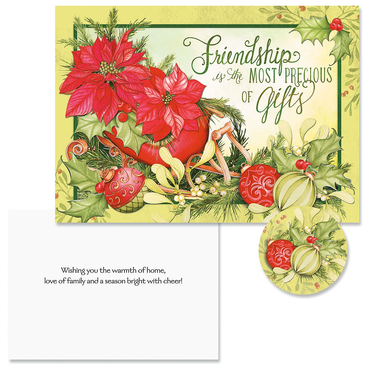 Abundant Friendship Christmas Cards