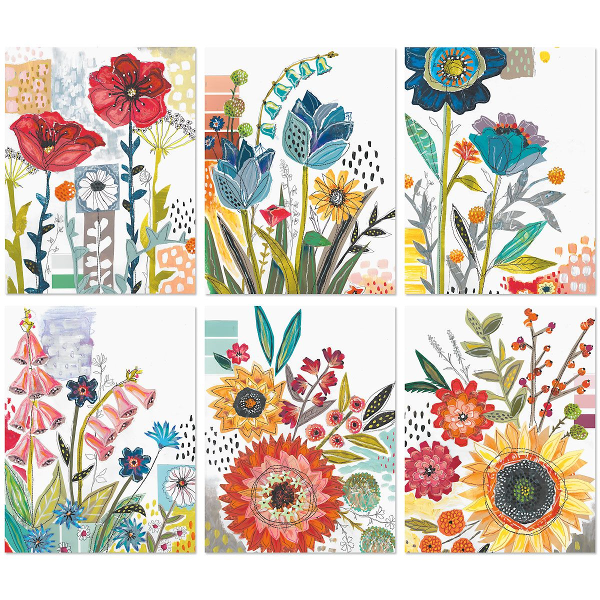 Garden Snippets Note Cards