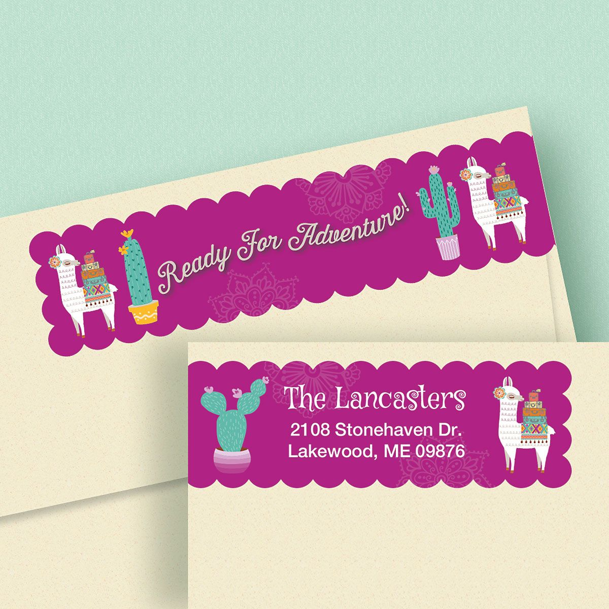 Ready For Adventure Connect Wrap Diecut Address Labels