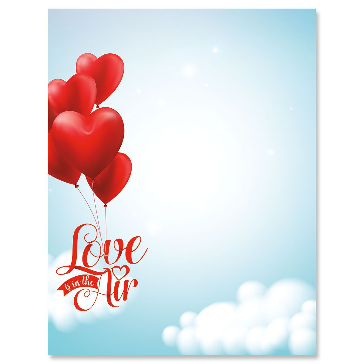 Love in the Air Letter Papers