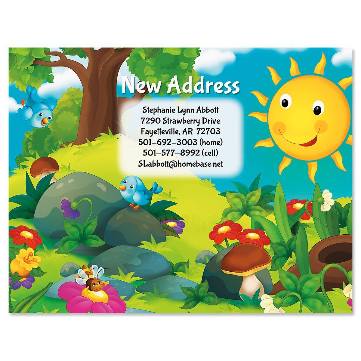 Happy New Address Postcards