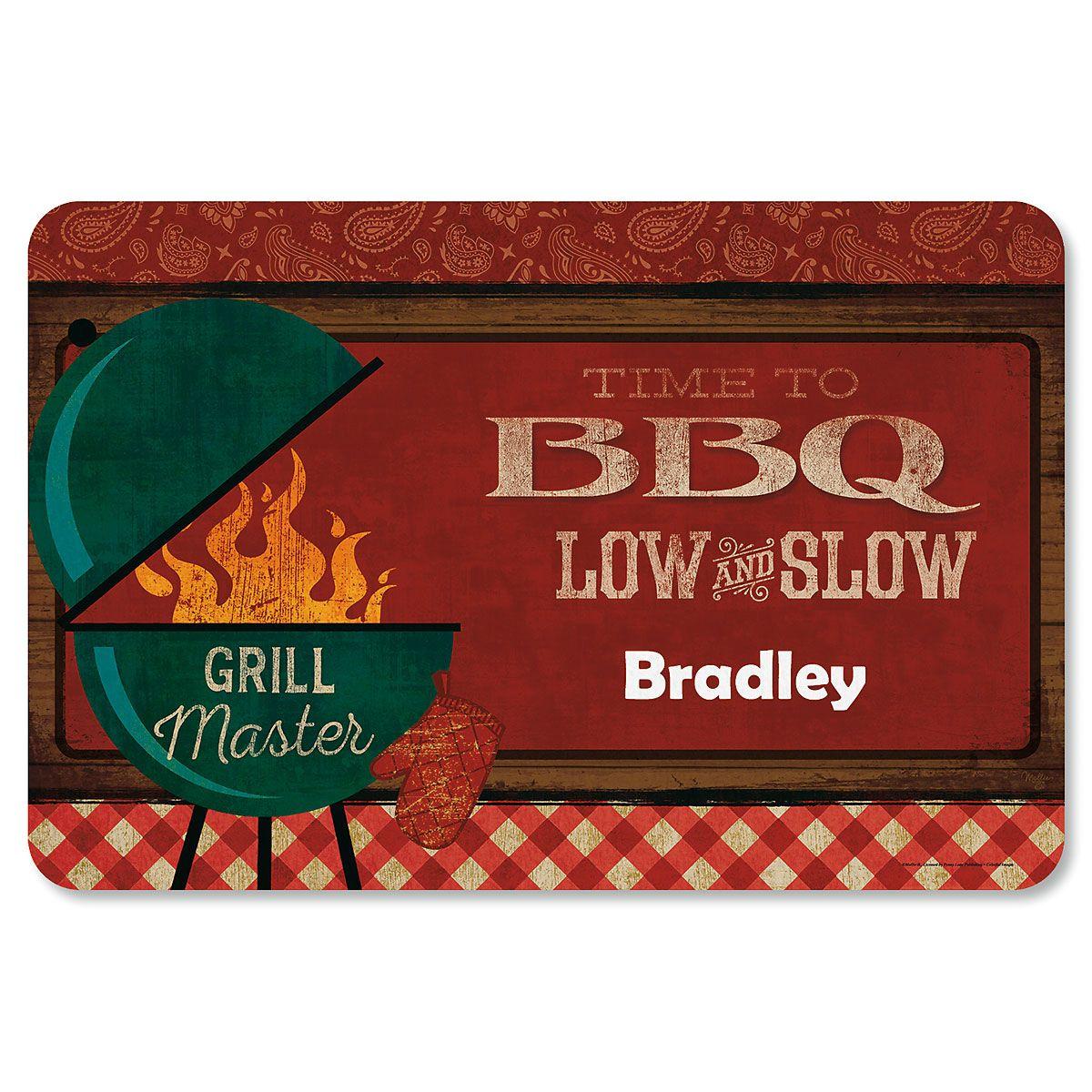 Personalized BBQ Mat