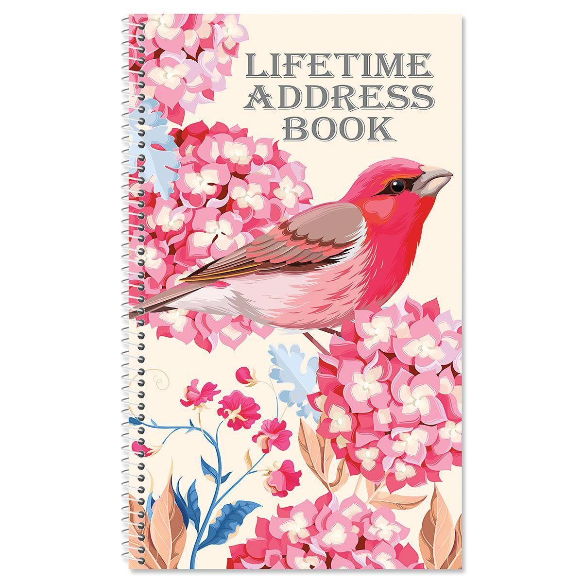 Summer Garden Lifetime Address Book