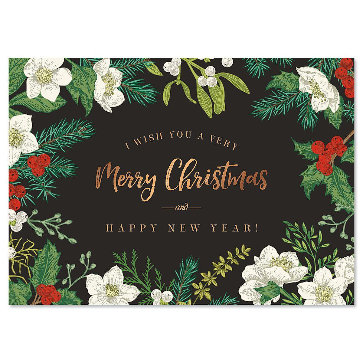 Nature's Arrangement Christmas Cards