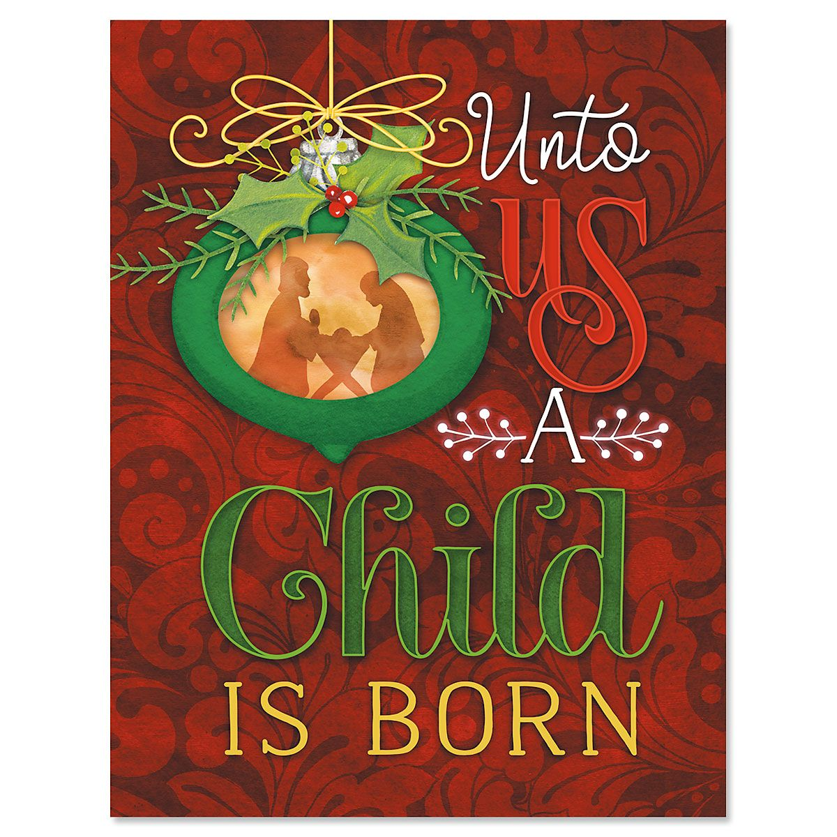 Christmas Child Note Cards