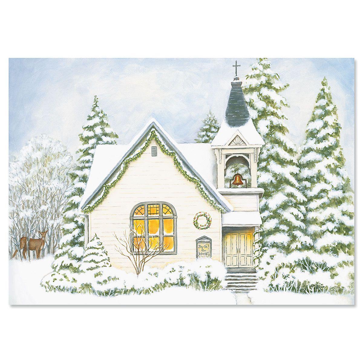 Christmas Church Christmas Cards