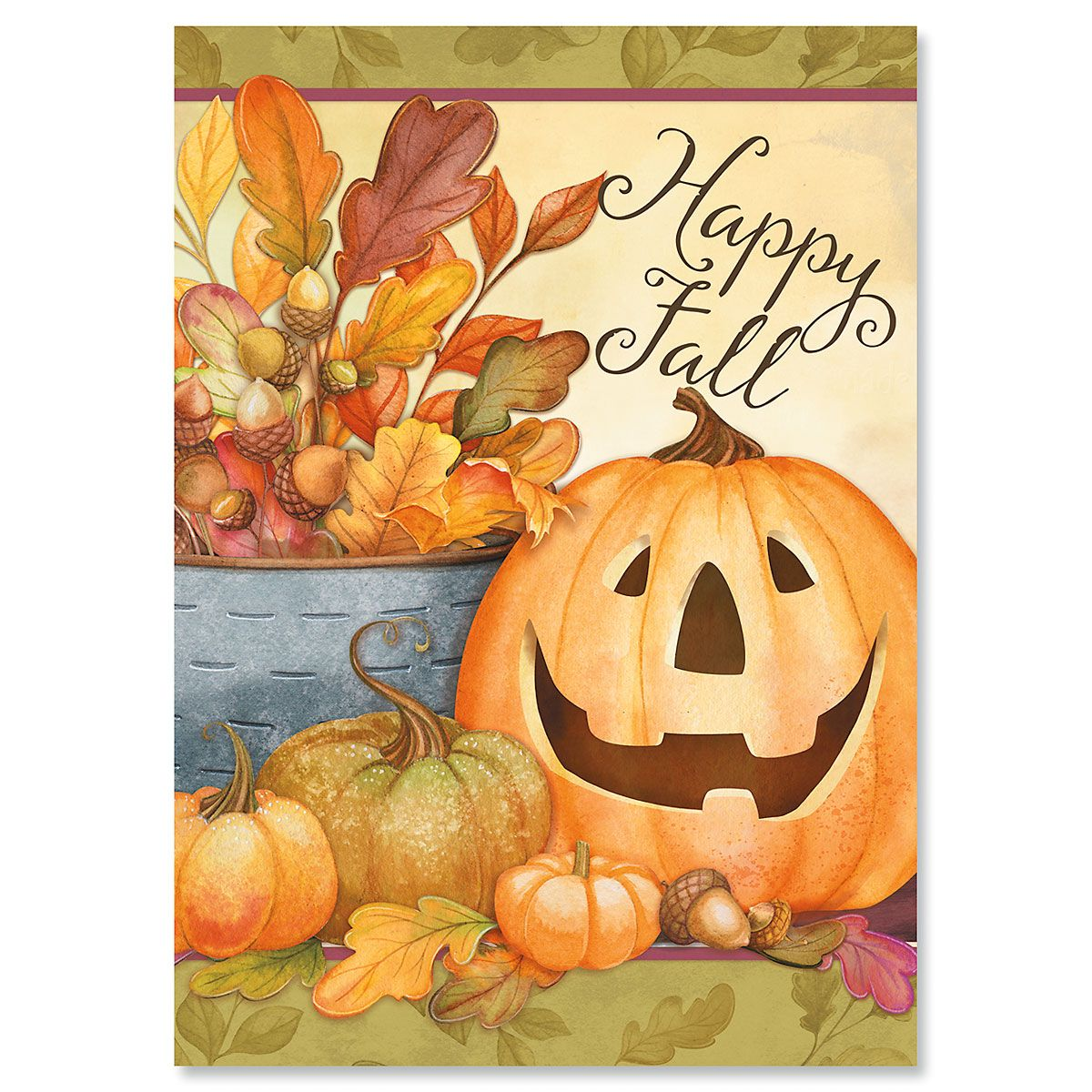 Happy Fall Greeting Cards