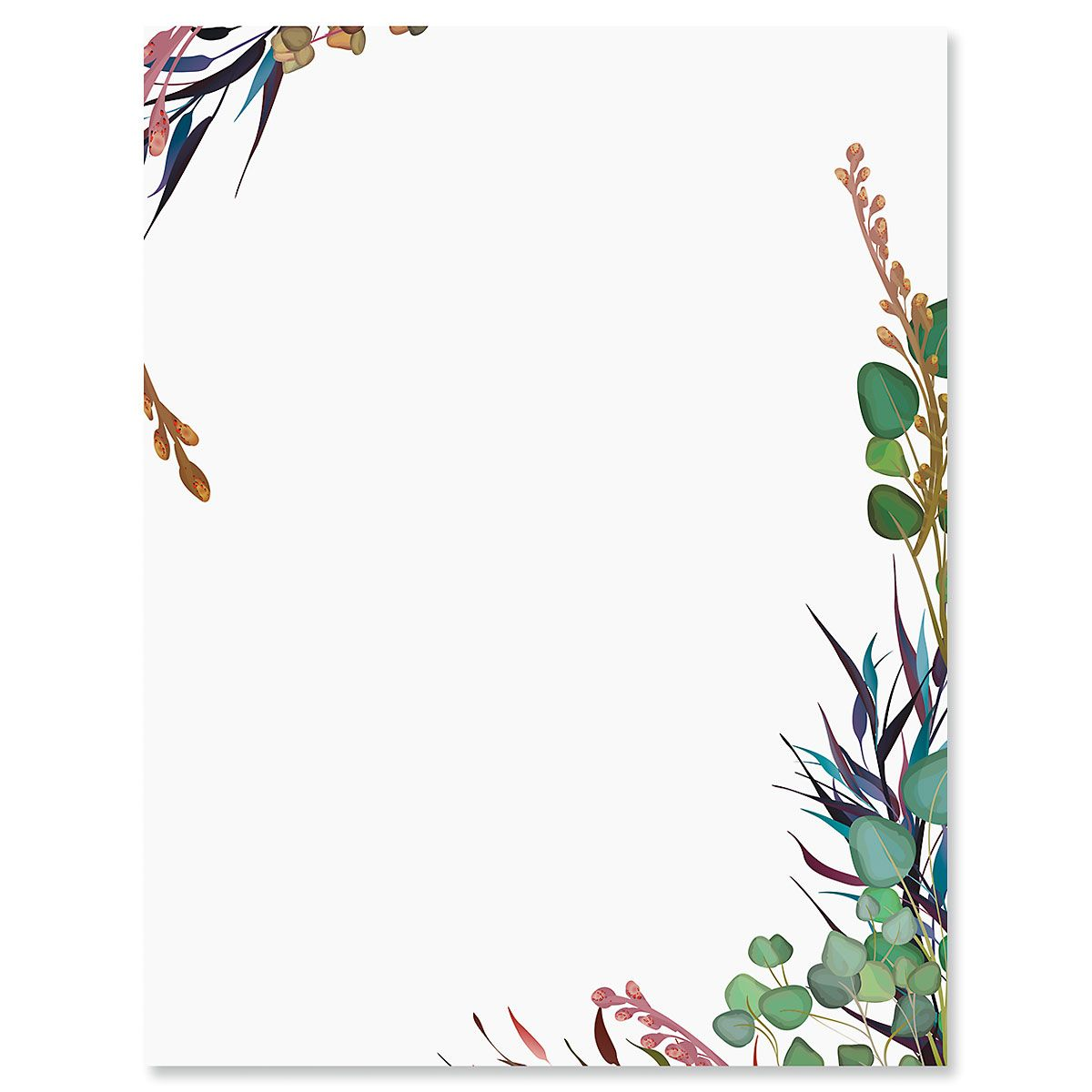 Wild Vines Letter Papers