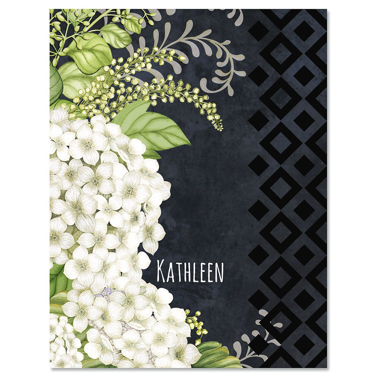 Simply Blessed Custom Note Cards