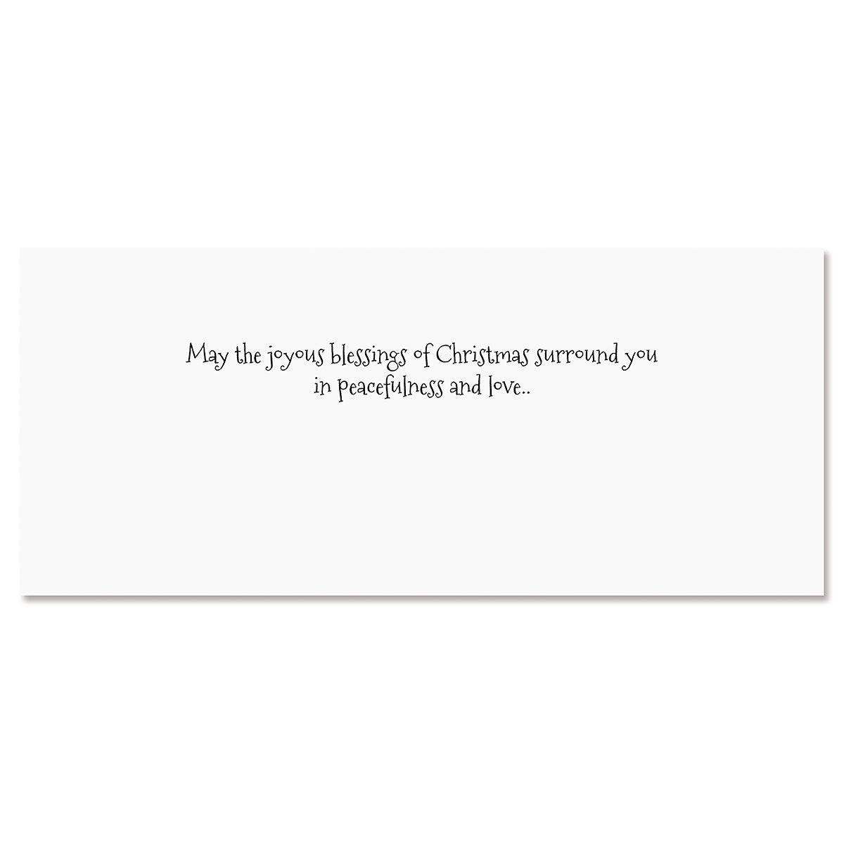 Shining Star Slimline Holiday Cards