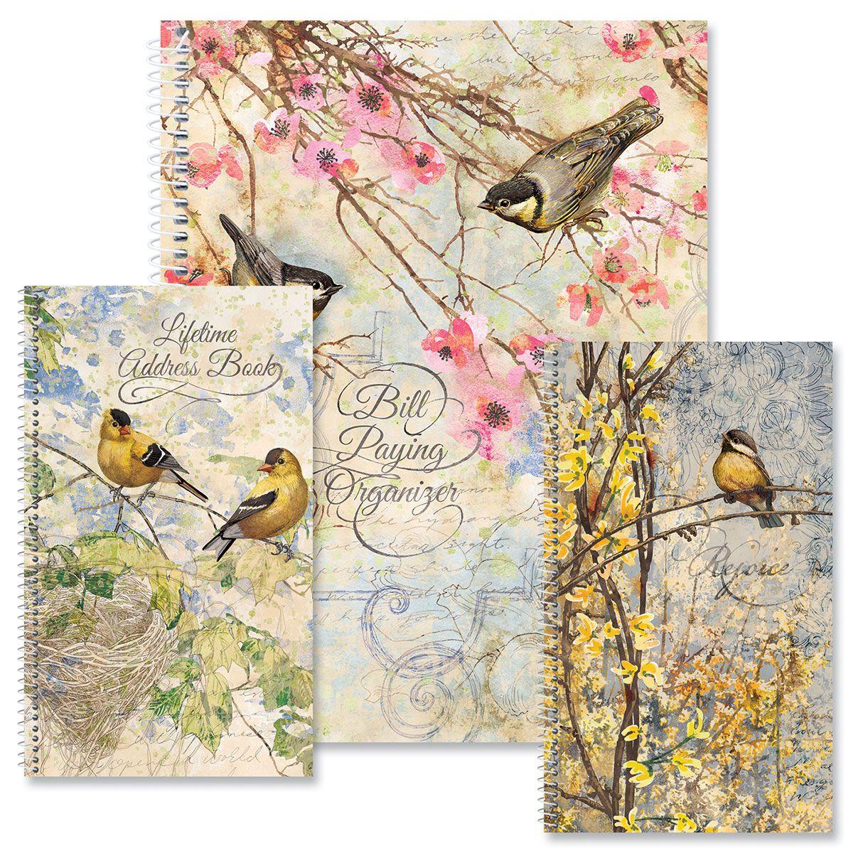 Feathered Nest Organizer Books