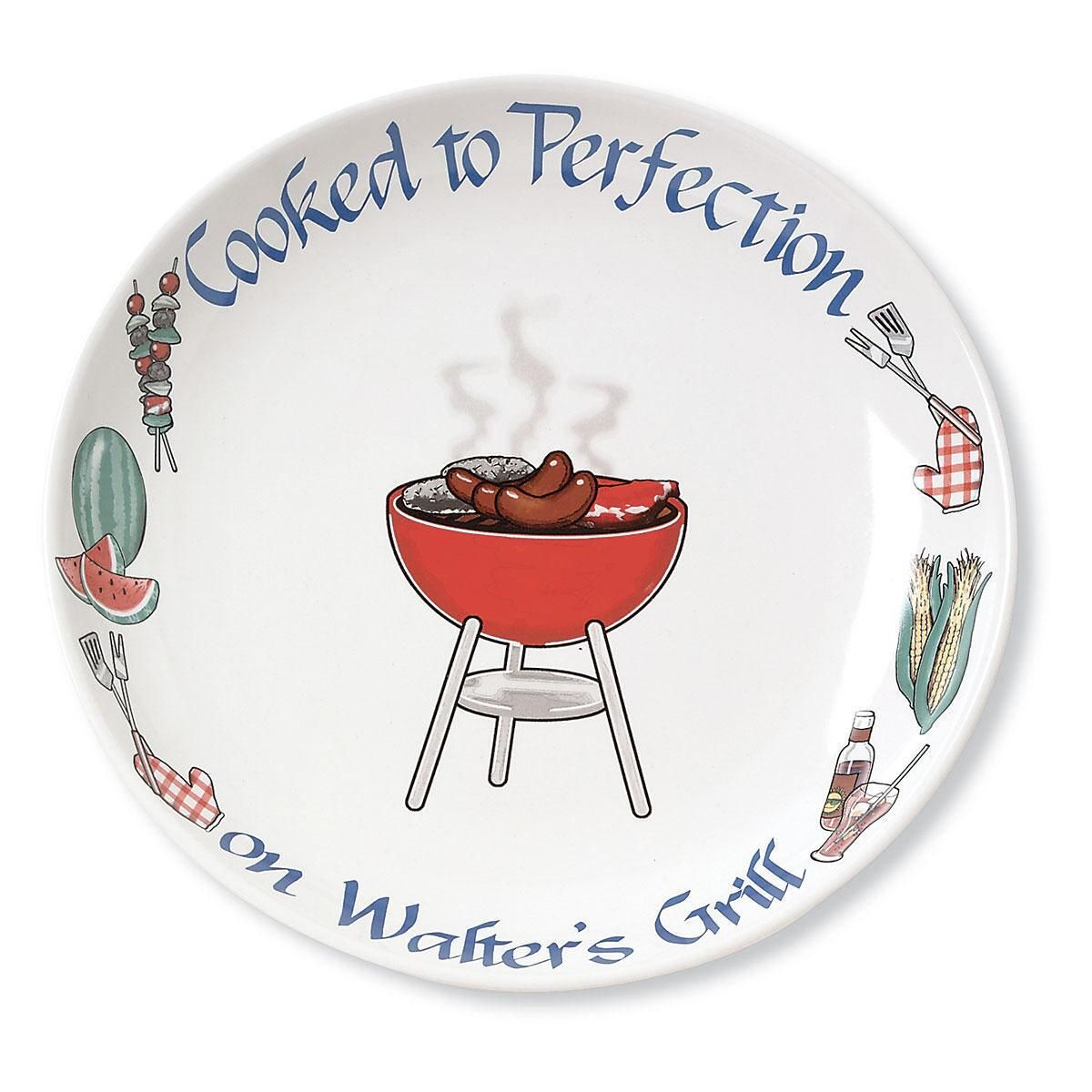 Barbecue Personalized Platter