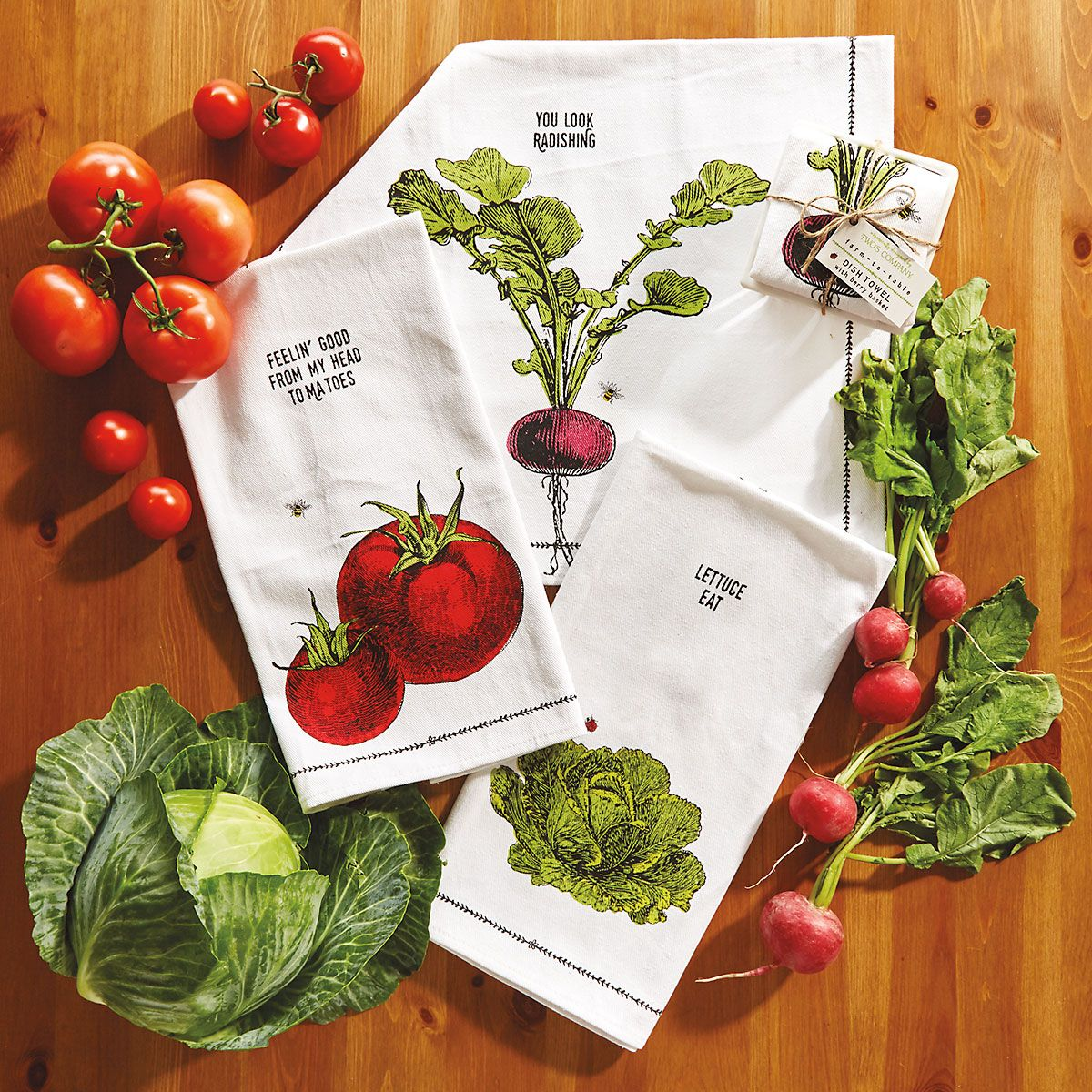 Farm-to-Table Dish Towel Set