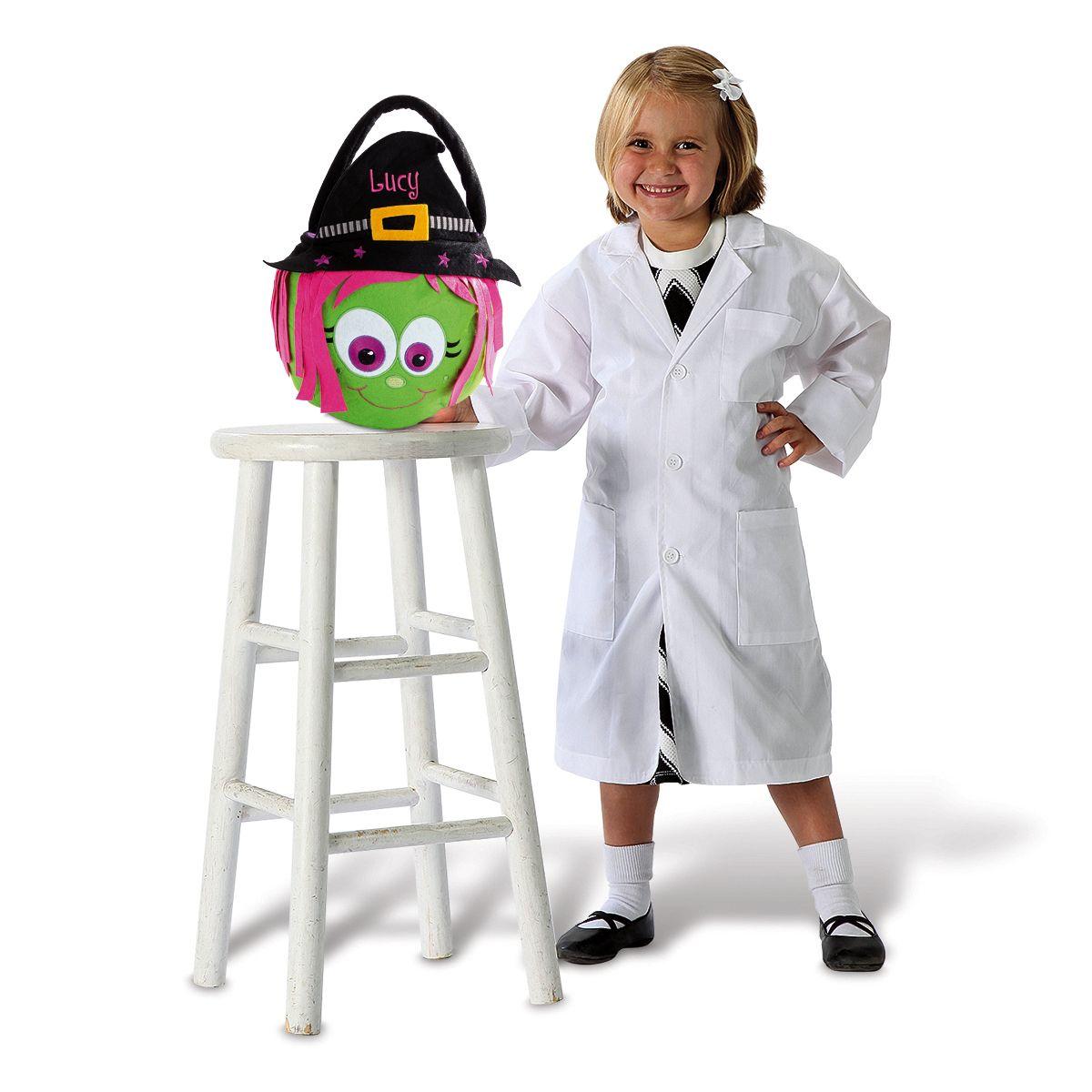Custom Halloween Witch Treat Basket