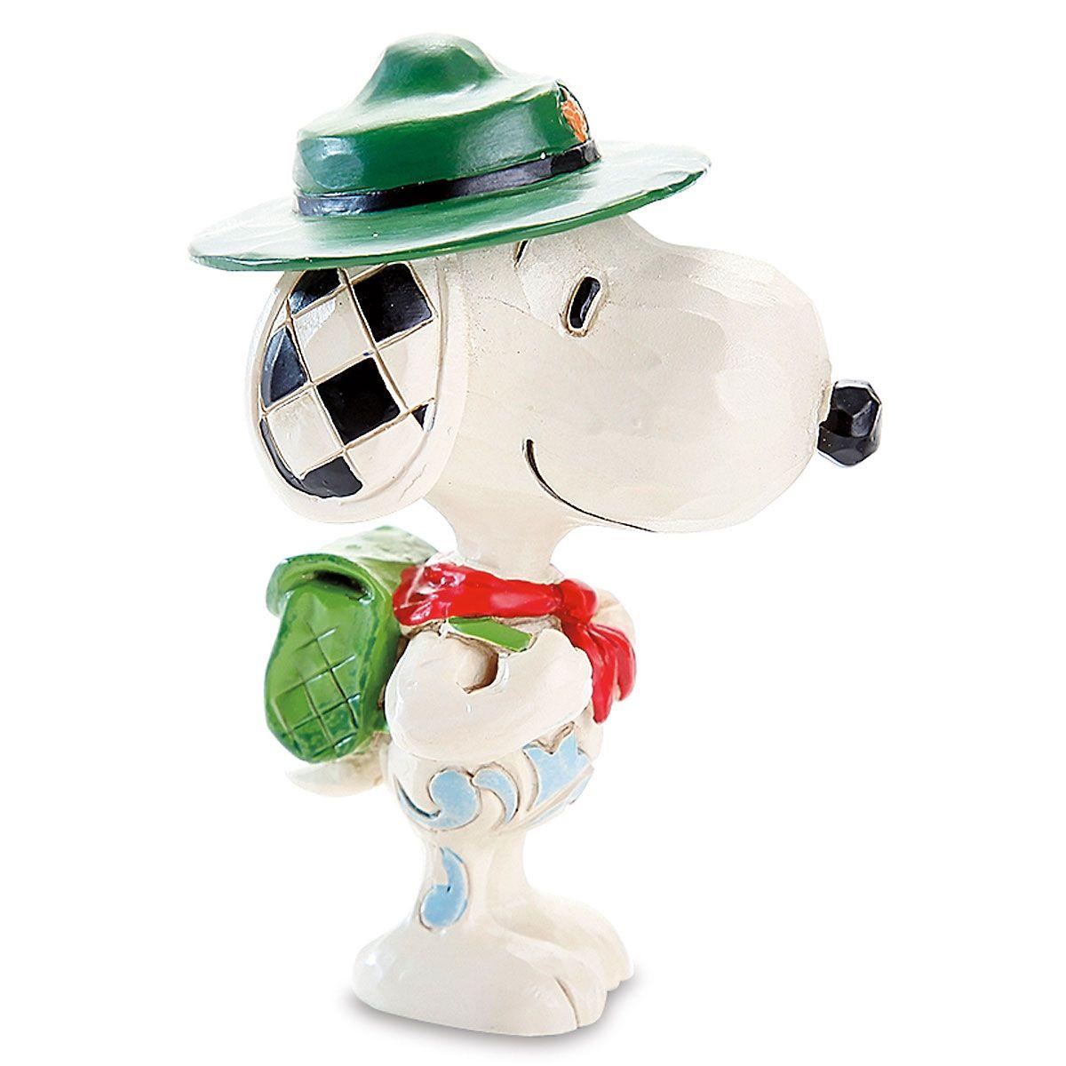 Snoopy Boy Scout Mini Figurine by Jim Shore