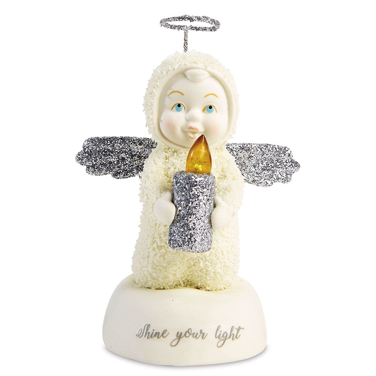 Snowbabies™ Shine Your Light Figurine