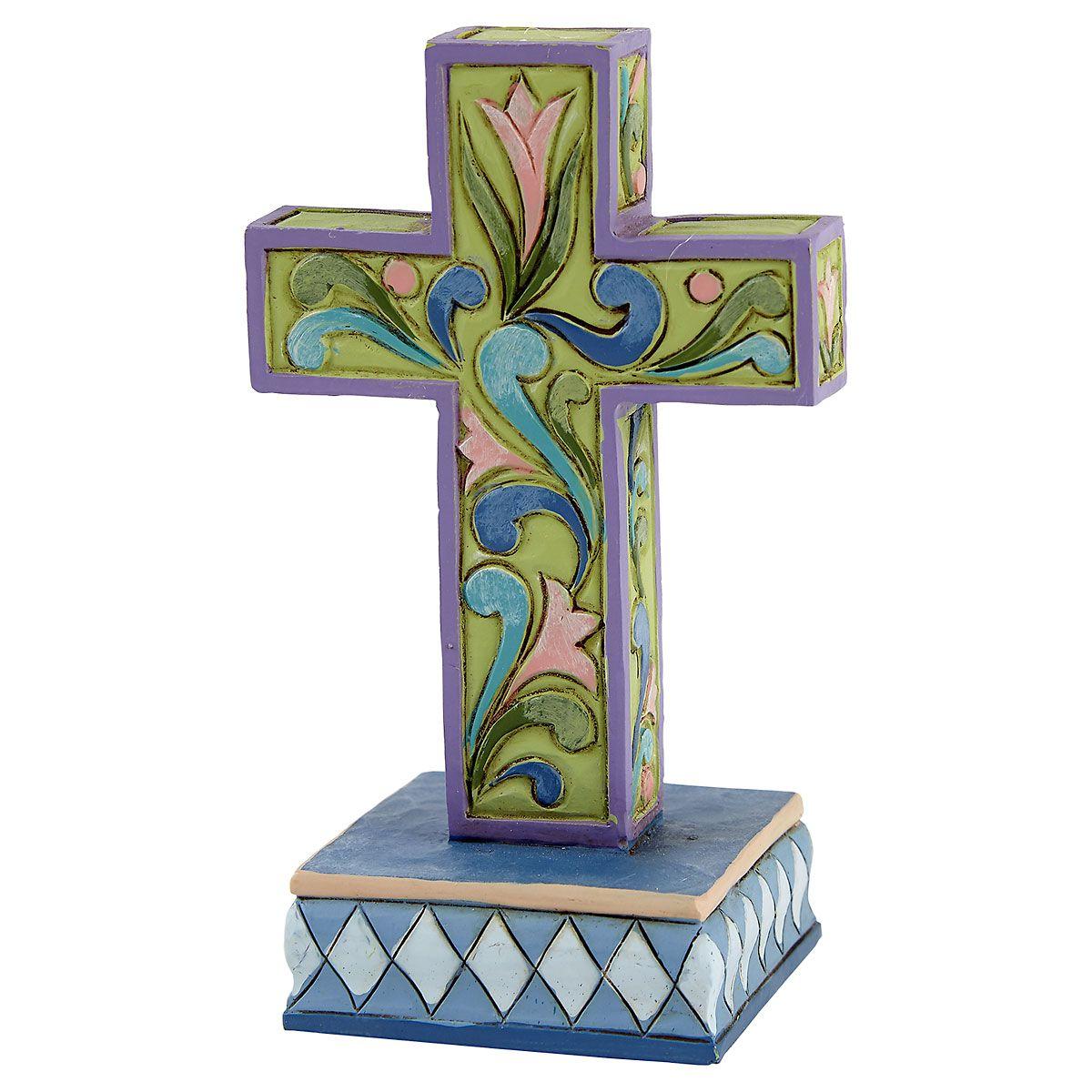 Mini Cross by Jim Shore