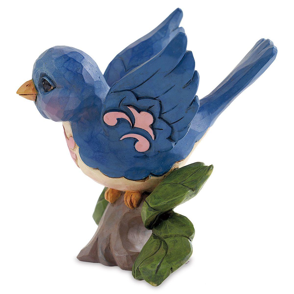 Jim Shore Mini Bluebird Figurine