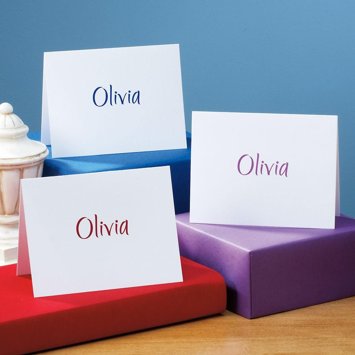 Elegant Personalized Note Cards