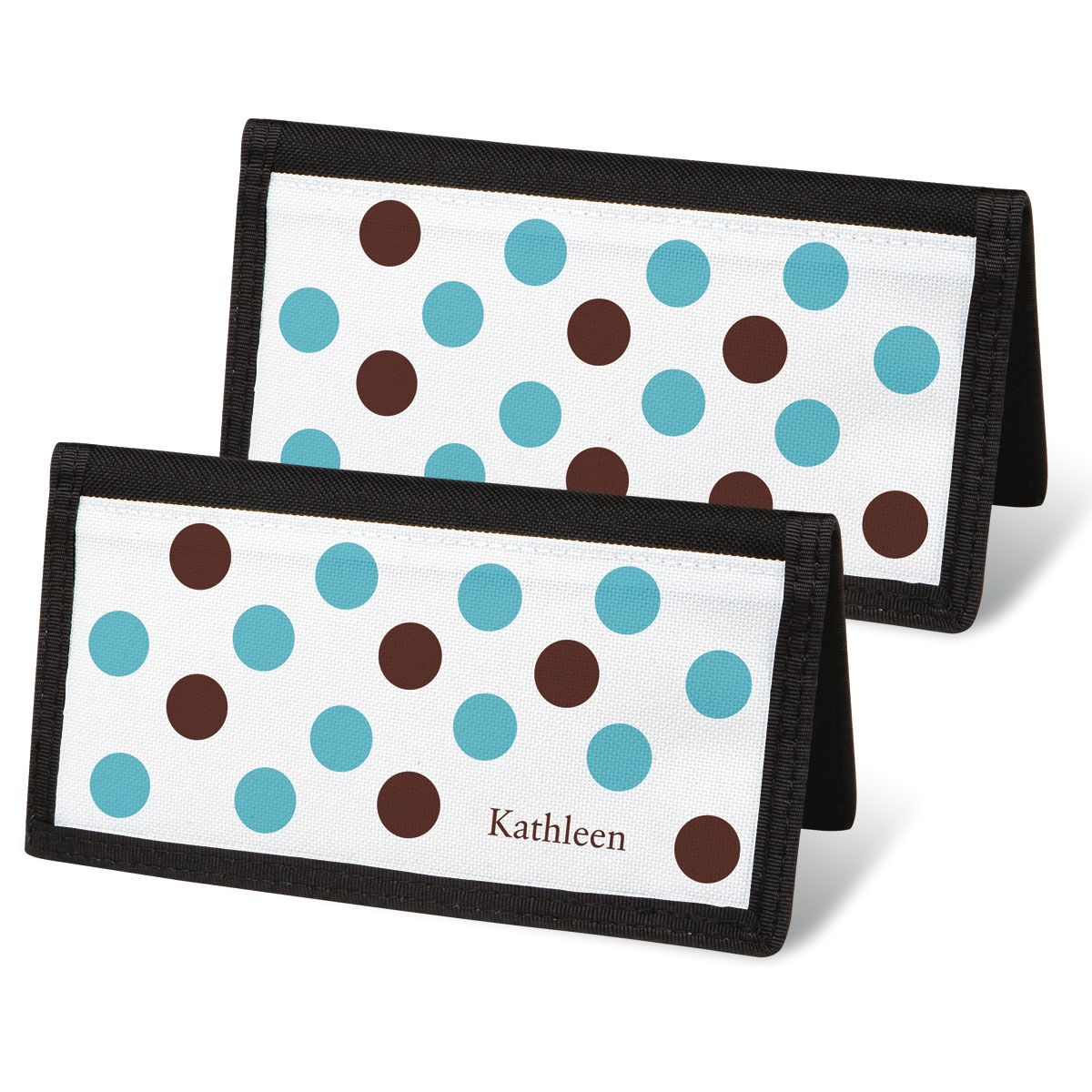 Pastel Dots Personal Checkbook Covers