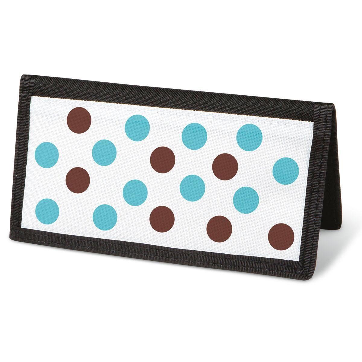 Pastel Dots Checkbook Cover - Non-Personalized