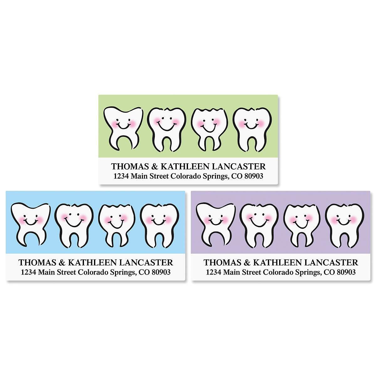 Dental Deluxe Address Labels  (3 designs)
