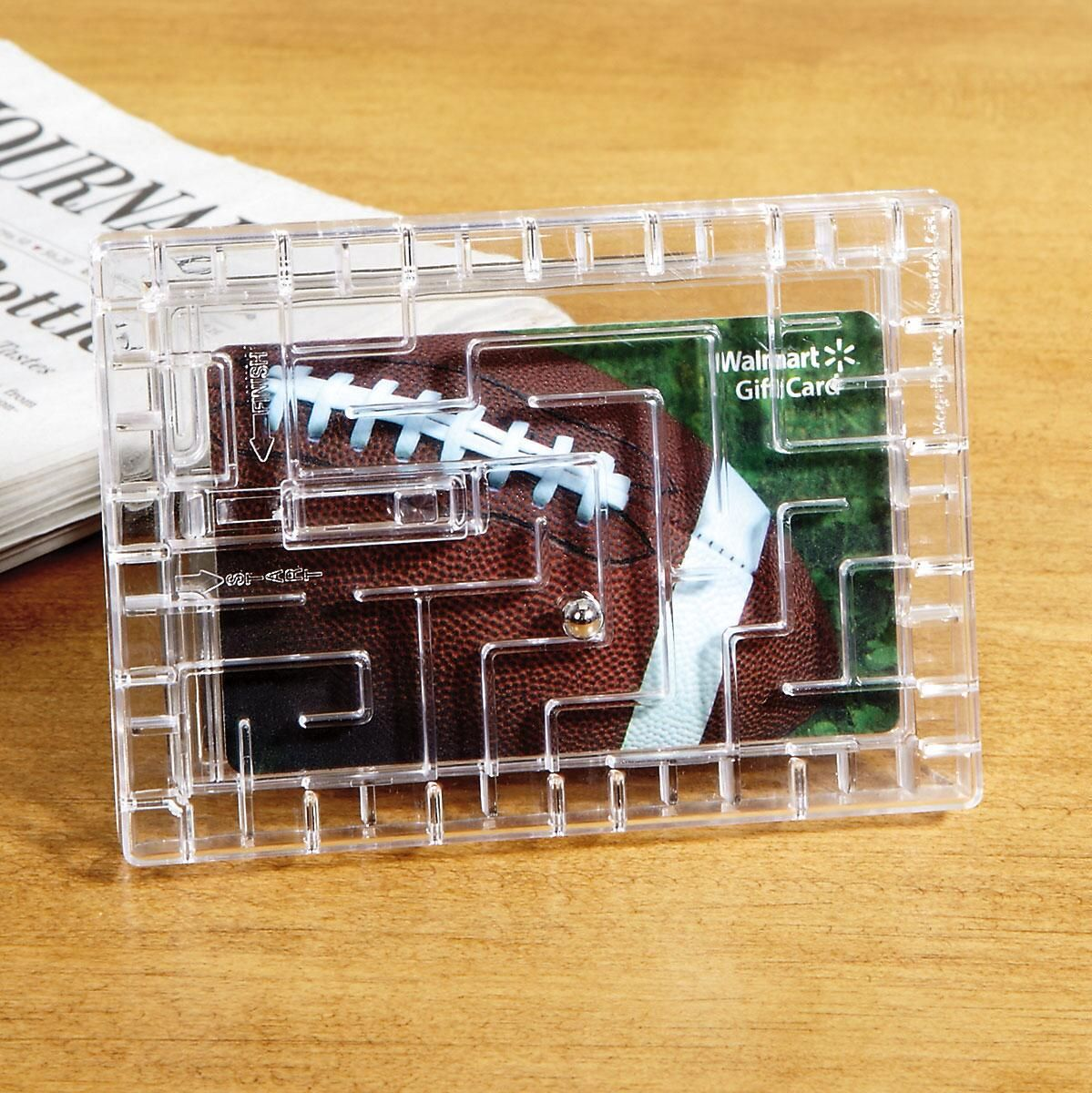 Gift Card Maze Puzzle Holder
