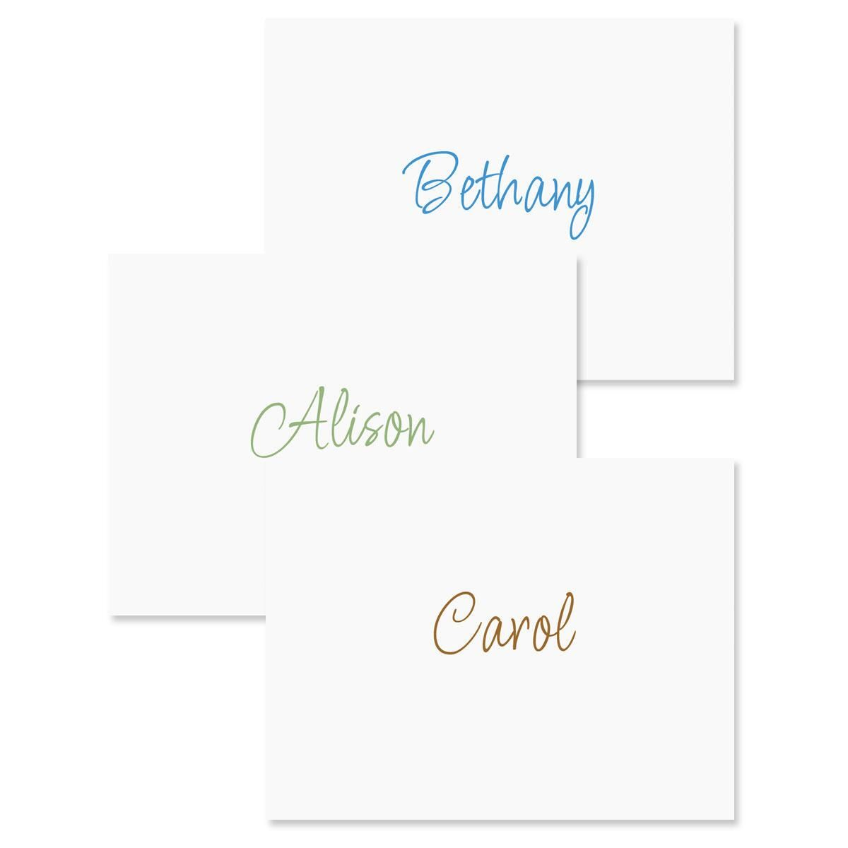 Casual Note Cards