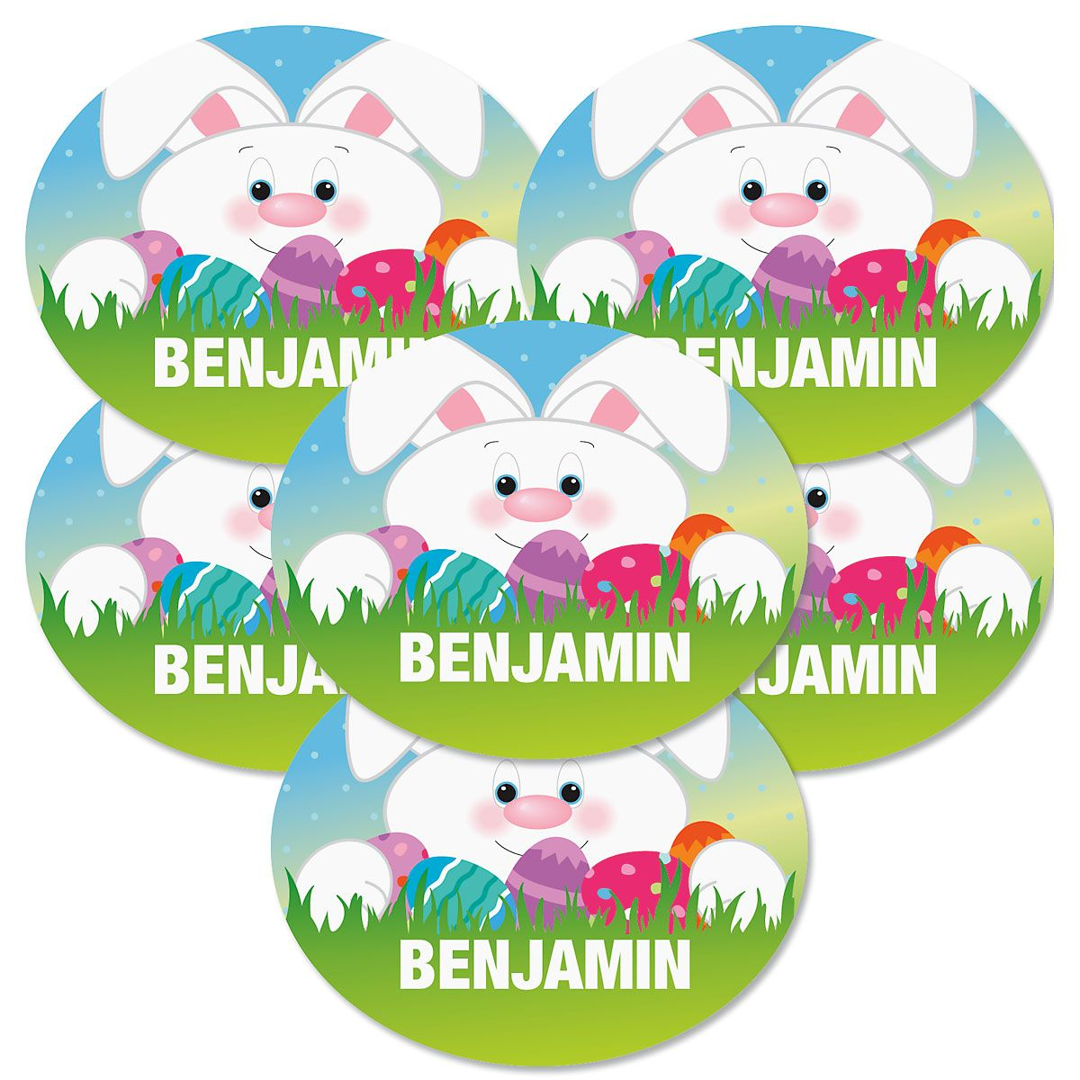 Custom Easter Stickers