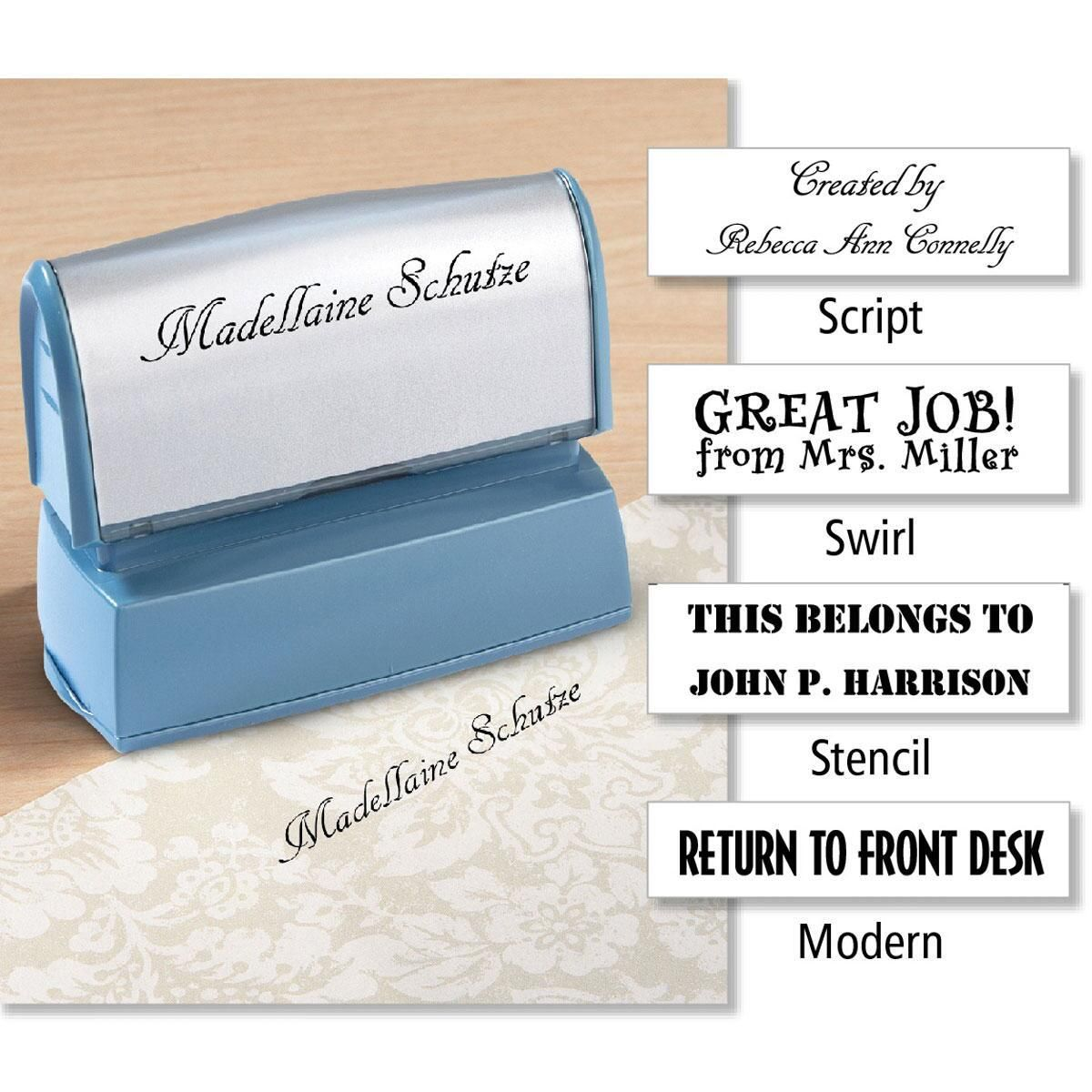 Create-Your-Own Self-Inking Stamp