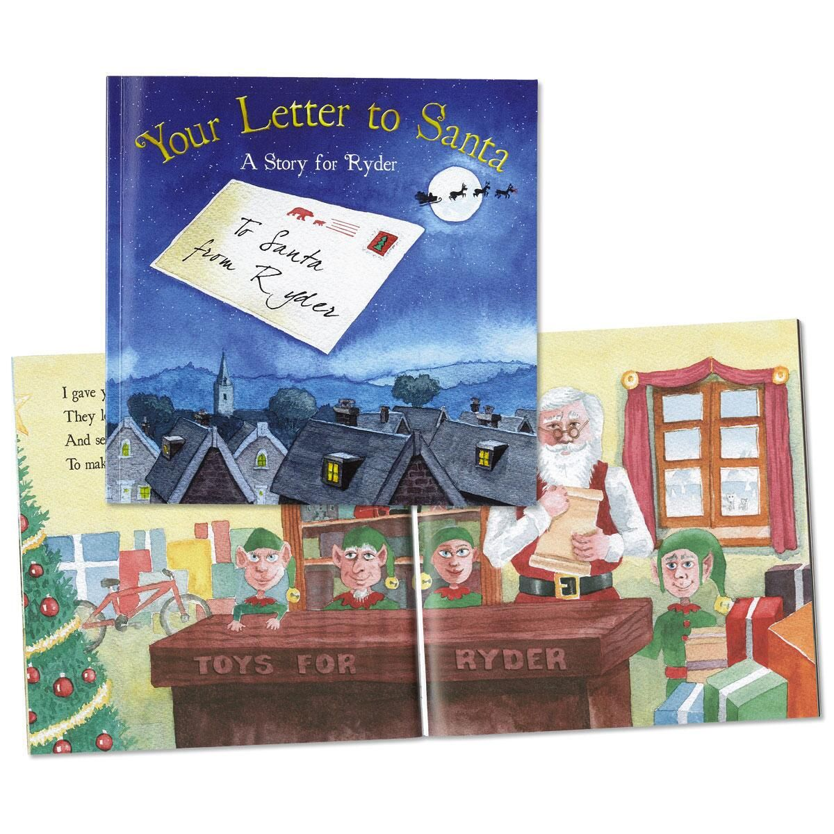 Your Letter to Santa Personalized  Storybook