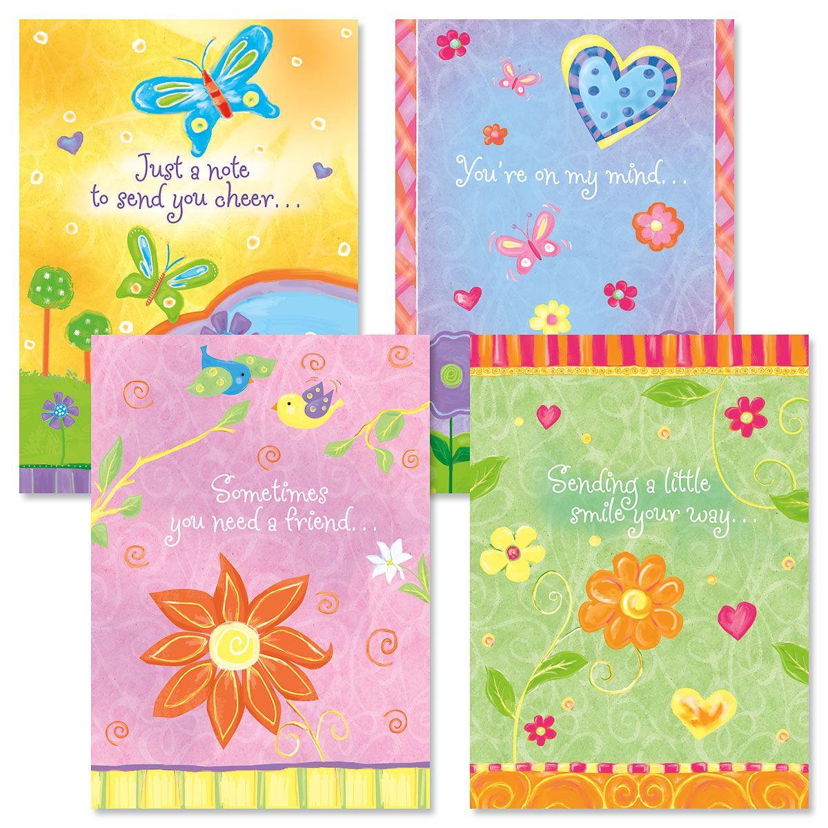 Thinking of You Faith Cards