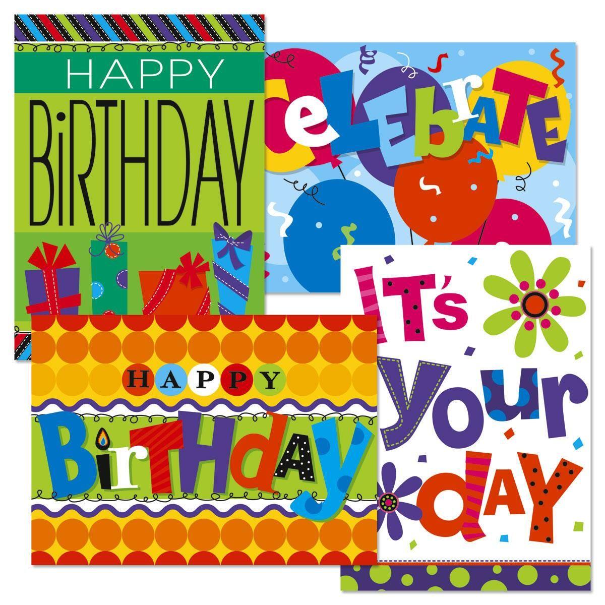 Bright & Bold Birthday Cards