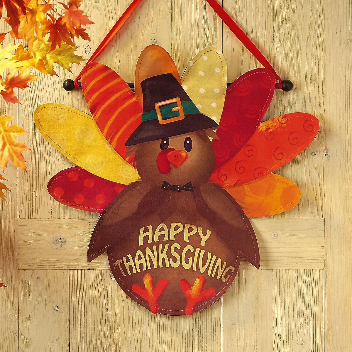 Thanksgiving Canvas Door Deco