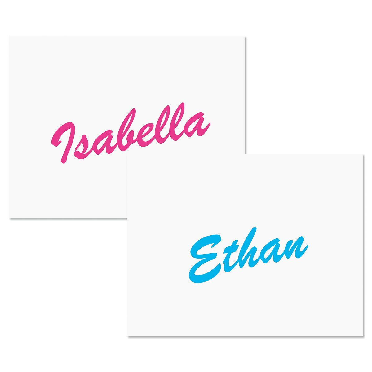 Big Name Personalized Note Cards
