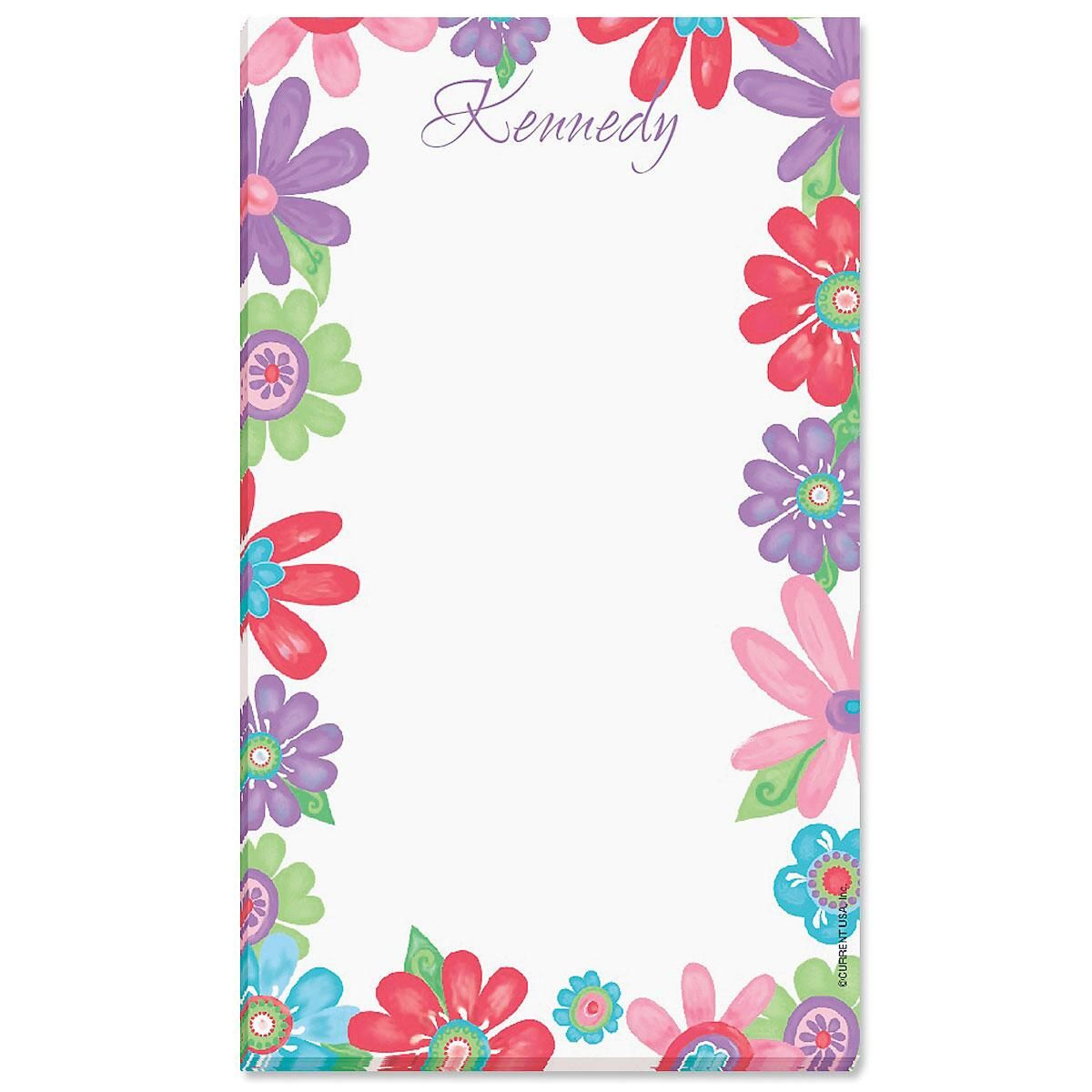 Blossom Custom Memo Pads