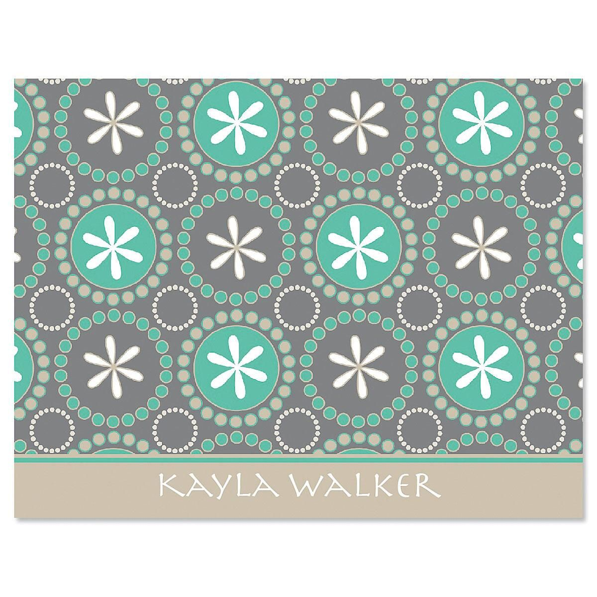 Hula Loop Note Cards - Set of 24