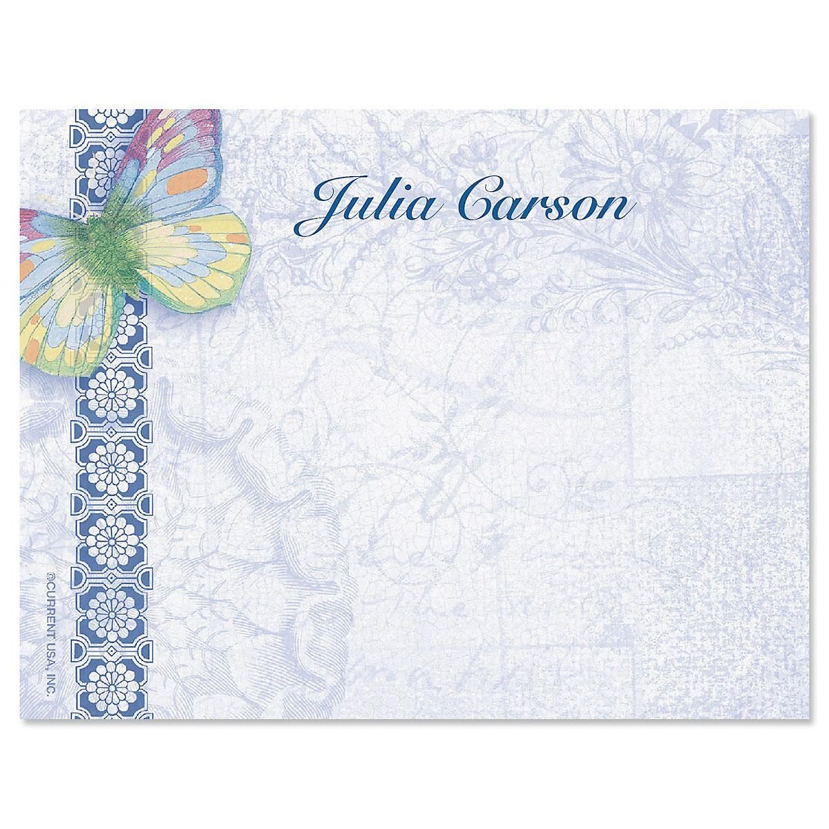 Exotic Prints Correspondence Cards
