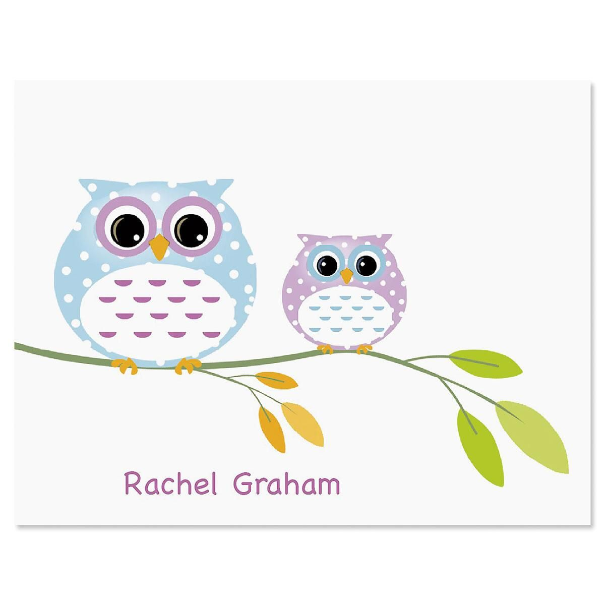 Owl Always Love You Custom Note Cards