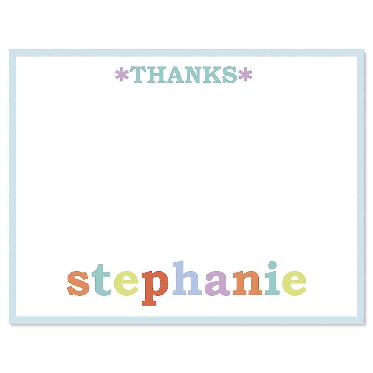 Emma Custom Thank You Cards