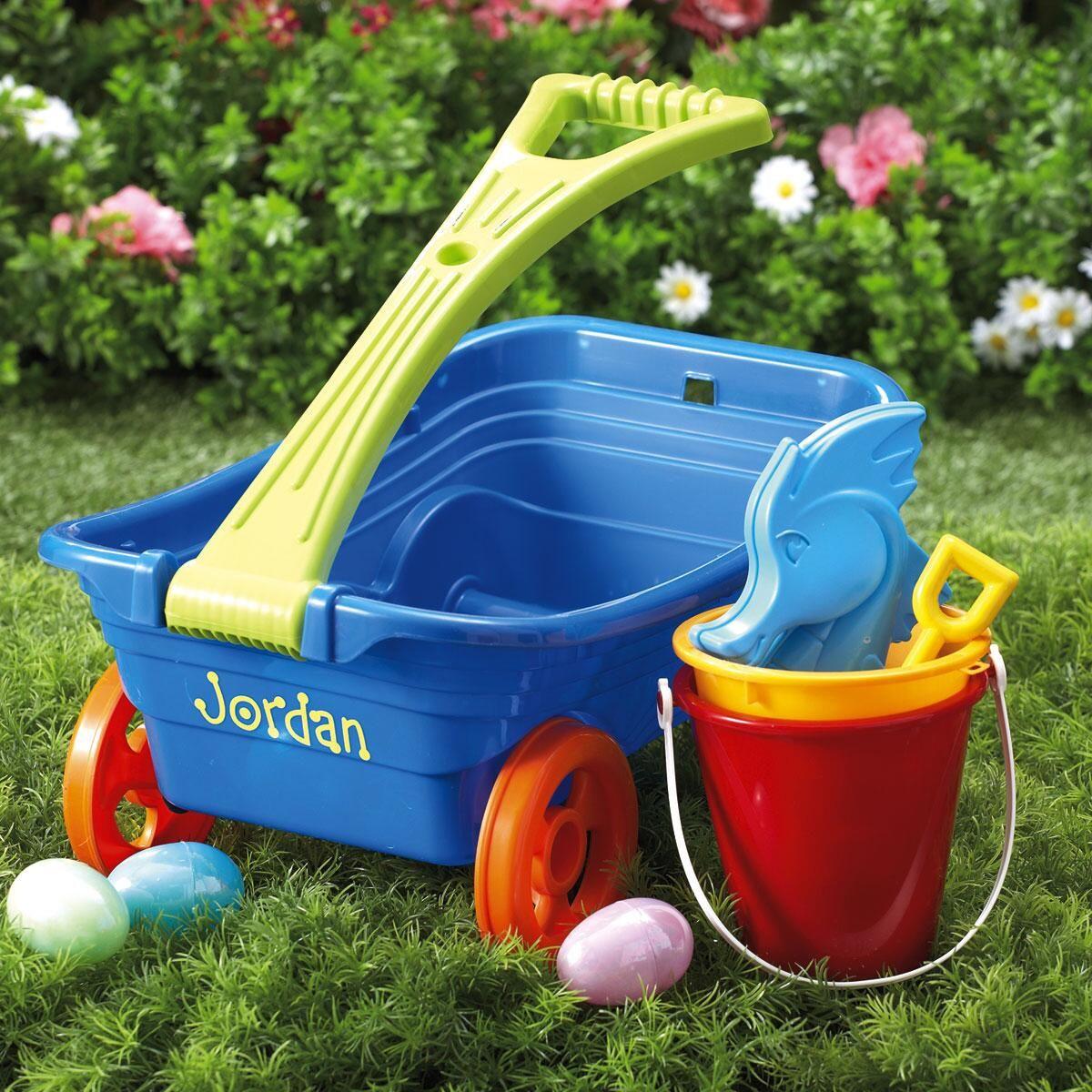 Plastic Personalized Wagon Set